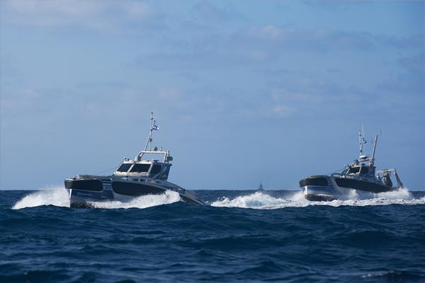 Seagul USV van Elbit Systems voor Aziatisch land.