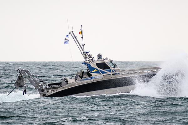 Seagull USV van Elbit Systems voor een marine in Azië, platform wordt gebouwd door De Haas Maassluis