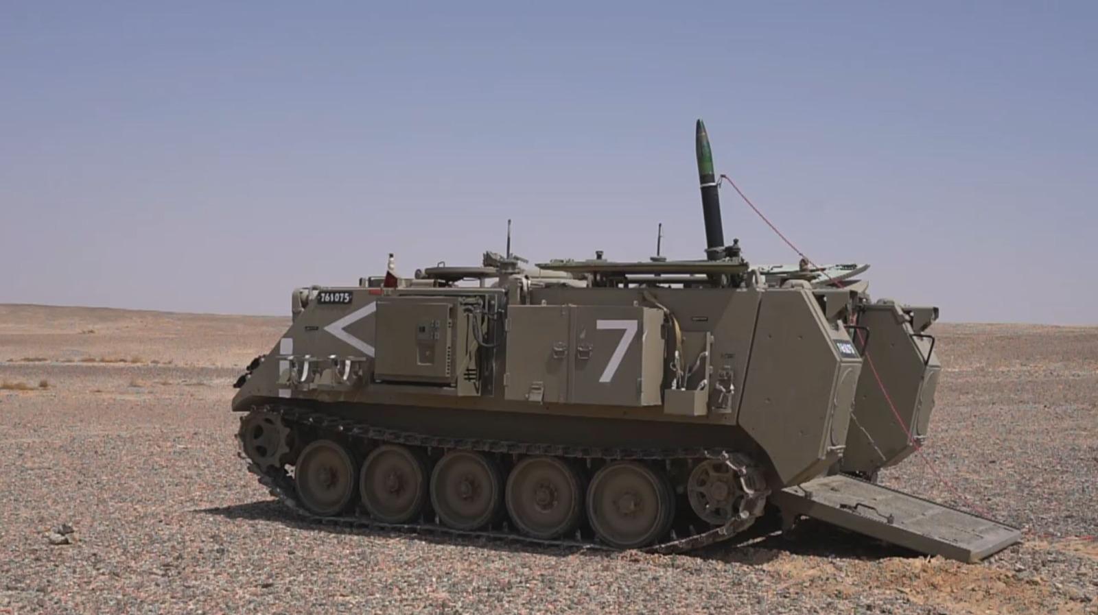IDF en Elbit-systemen onthullen de 'Iron Sting': een nauwkeurige, laser- en gps-gestuurde mortiermunitie