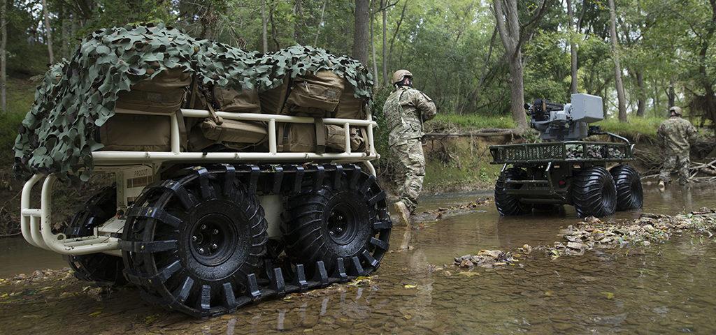 Manned-Unmanned Teaming – robots, autonome systemen ondersteunen de militair van de toekomst