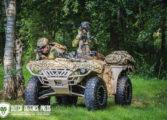 Internationale vooruitzichten voor de Defenture Scorpion militaire diesel quad