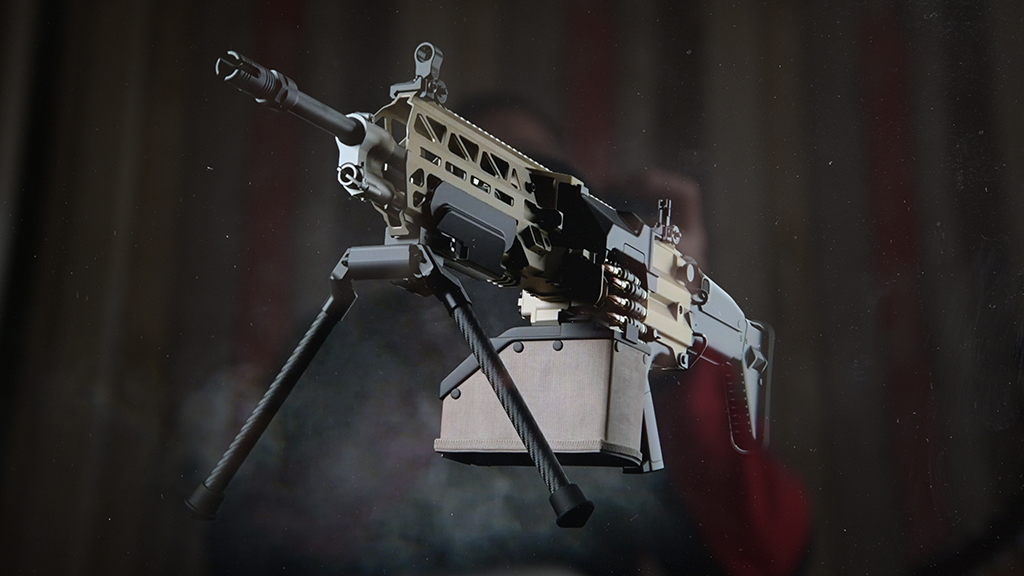 FN Evolys light machinegun launched
