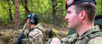 Gemengde eenheid voor CBMI missie Erbil