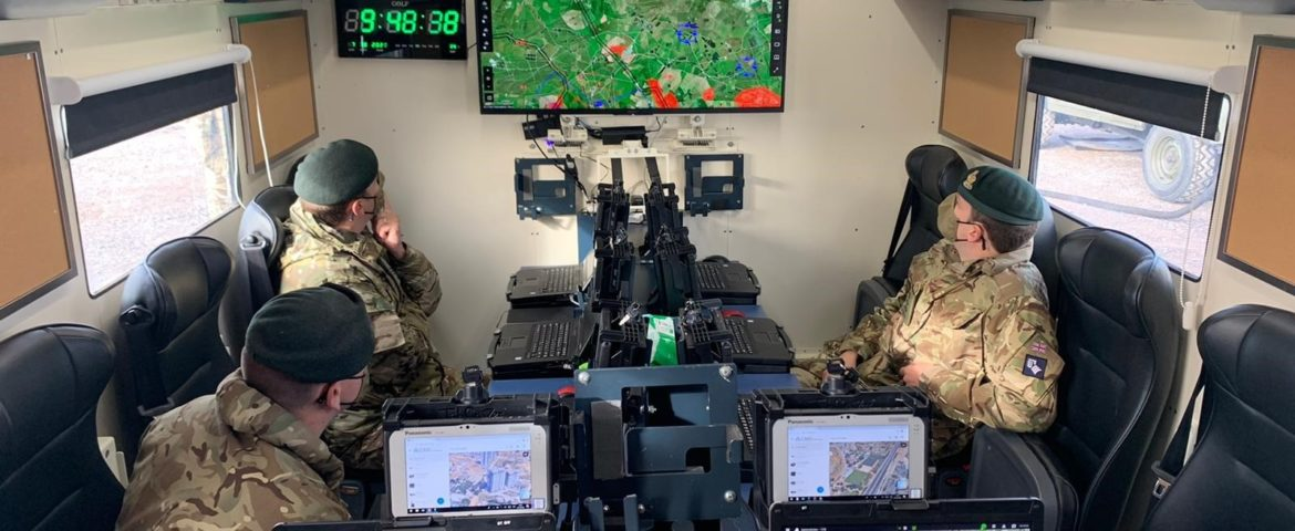Elbit TORCH-X Battle Management Application in NAVO-oefening