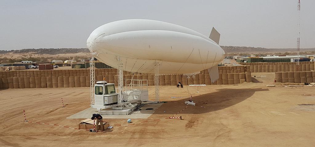 Rheinmetall bewakingsballon naar Niger