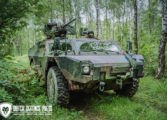 Rheinmetall rust Nederlandse Fennek uit met nieuw vizier LaZ400